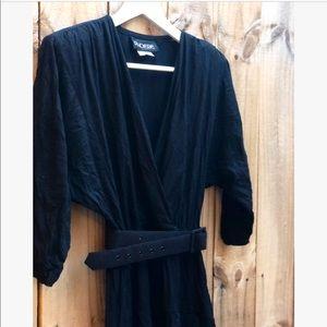 Vintage Plunge Dress